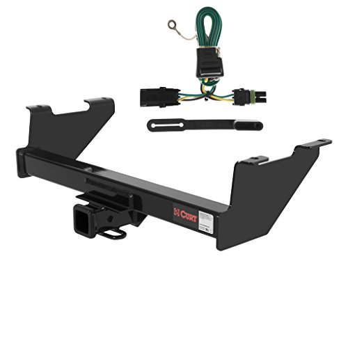 CURT Class 3 Trailer Hitch Bundle with Wiring for Chevrolet Blazer, K5 Blazer - 13401 & 55312