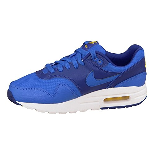 cheap sale under $60 store sale online Nike Youths Air Max 1 Blue Leather Trainers 36 EU DE4OYGiF