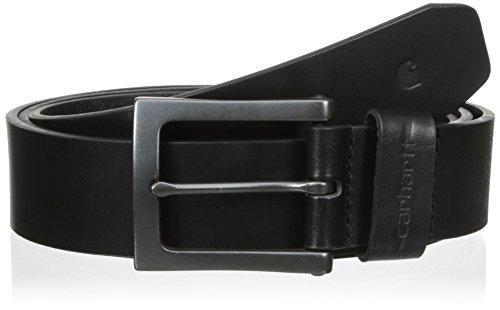 (Carhartt Men's Signature Casual Belt, Anvil Black, 48)
