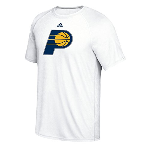 fan products of NBA Indiana Pacers Men's Phrase Hat Hook Climalite Ultimate Tee, Large, White