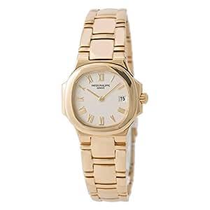 Patek Philippe Nautilus quartz womens Watch 4700/51J-001 (Certified Pre-owned)