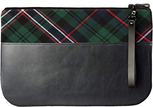 Leather iPad Scotland Fits National Tartan Clutch an Medium Bag With CqHRfdfw