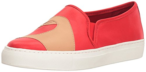 Katy Perry Womens The Heart Sneaker Cherry Red