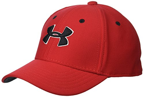 Under Armour Little Boys' Baseball Hat, Red 1, 4-6