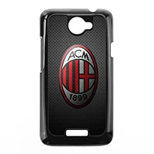 HTC One X Custom Cell Phone Case AC Milan FC Logo Case Cover 7WFF35816
