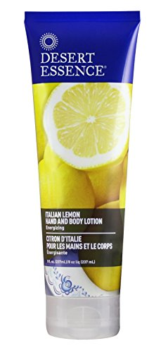 Desert Essence Hand and Body Lotion, Italian Lemon, 8 oz - Essence Lotion