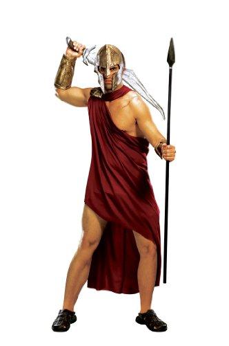 Rubie's Spartan Warrior, Red, Standard Costume ()