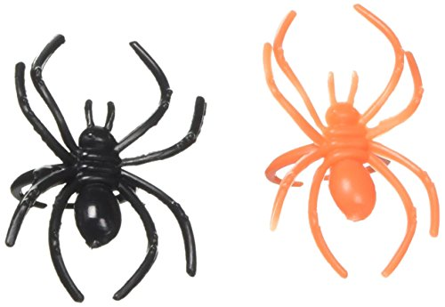 Amscan Creepy Halloween Spider Ring Party Favour, Plastic, 1