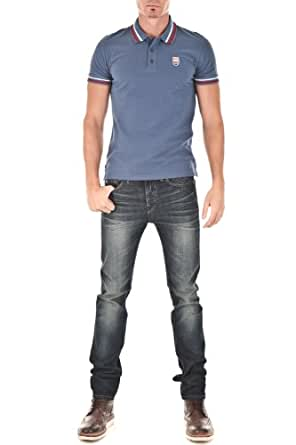 Pepe Jeans - Polo - Jimmy - Azul Azul Medium: Amazon.es: Ropa y ...