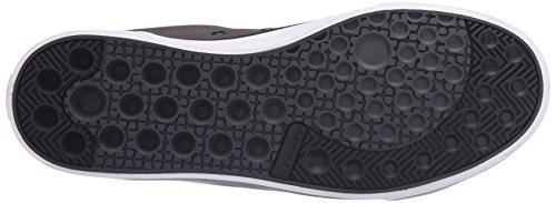 DC–Hombres Evan Smith S Low Top Zapatillas ( Gris/Negro