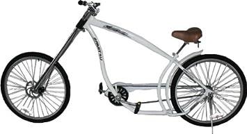 2Fast4You Terminator - Bicicleta Chopper Adulto Blanco Blanco ...