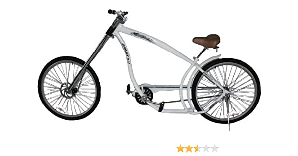 2Fast4You Terminator - Bicicleta Chopper Adulto Blanco Blanco ...