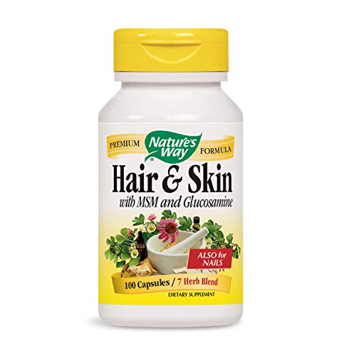 Nature's Way Hair and Skin, 100 Capsules (Pack of 2)