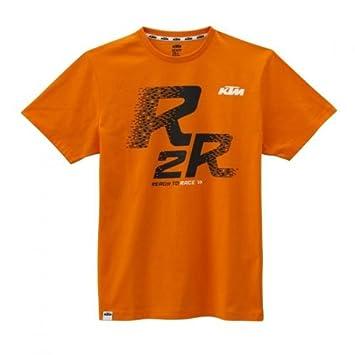 Original KTM Ready to Race té – Camiseta para hombre (Talla L), color