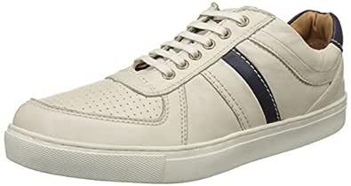 Ruosh White Sneakers Shoes For Men, 44 EU