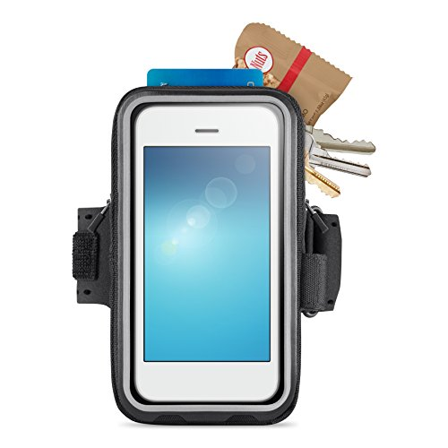 - Belkin Storage Plus Armband for iPhone 6 and iPhone 6s (Black)