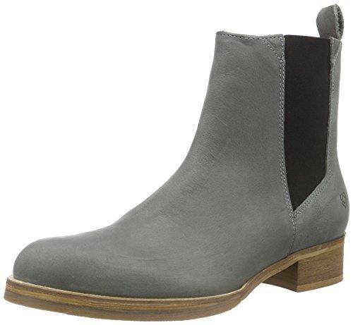 Liebeskind Berlin Ladies Ls0120 Grain Chelsea Boots Grigio (grigio Gru 9512)