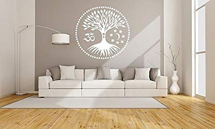 wei/ß M size wiederverwendbar Baum des Lebens 39.3 x 39.3 in A3 A4 100 x 100 cm Widerverwendbare PVC-Schablone TOL3 Wanddekoration Wanddekoration A5 und gr/ö/ßere Gr/ö/ßen