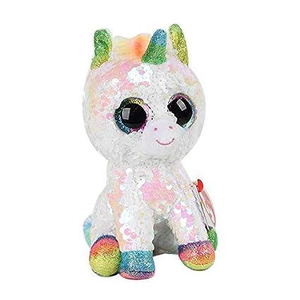 Amazon.com: Ty Beanie Boos Diamante lentejuelas unicornio ...