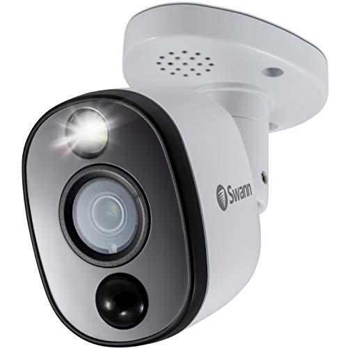 Swann Security Camera, 4K Ultra HD Bullet Heat & Motion Sensing with Sensor Warning Light