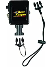 """Gear Keeper RT3-7524 Retractable Instrument Tether with Stainless Steel Rotating Belt Clip, 80 lbs Breaking Strength, 24 oz Force, 32"""" Extension"""