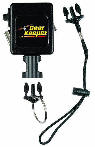 (Gear Keeper RT3-7518 Retractable Instrument Tether with Stainless Steel Rotating Belt Clip, 80 lbs Breaking Strength, 18 oz Force, 36
