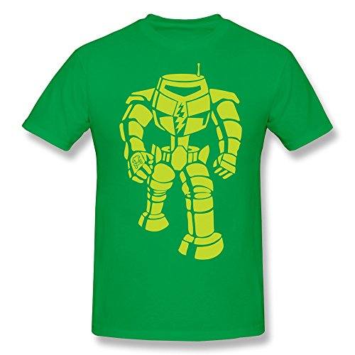 PTYS Men's Tshirt Sheldon Cooper Robot Size L - Our Housewives Real