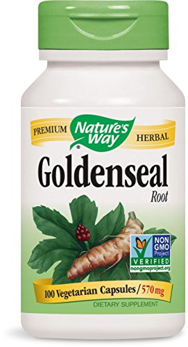 Natures Way Goldenseal Root Capsule, 570 Mg - 100 per pack -- 3 packs per case. by Nature's Way