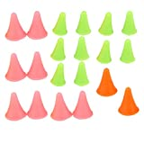 20x Large Small Size Point Protectors/Stoppers for Knitting Needles