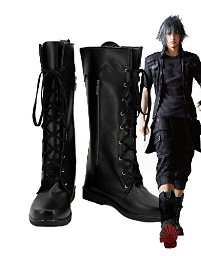 Final Fantasy XV Noctis Lucis Caelum Cosplay Shoes Boots Custom Made VTSsi