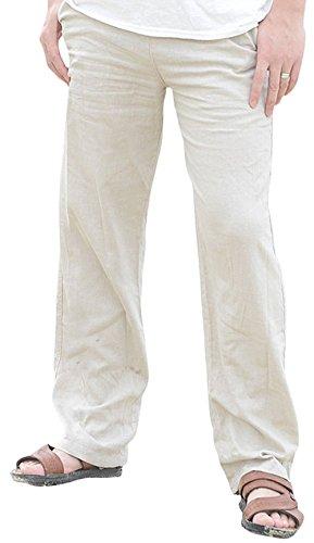 Linen Beach Pants - 5