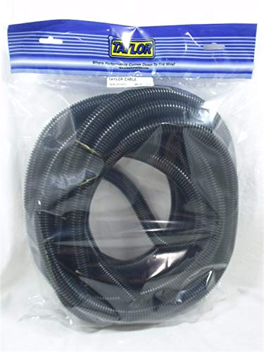 (Taylor Cable 38700 Black Convoluted TubingREPEAT)