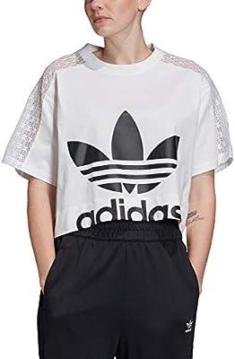 adidas tee Camiseta de Manga Corta, Mujer, White, 54: Amazon.es: Deportes y aire libre