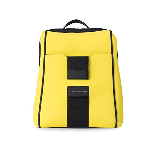 Italy et Très in Princi Jaune Made Chiolo léger Antipluie Alexandra Alberta Backpack 1Sx0XPq