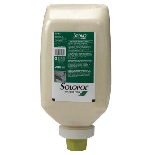 STOKO Solopol Solvent-Free Heavy-Duty Hand Cleaner (6 Bottles per Case) - BMC-SKO 98318706
