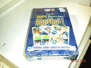 1992 O-PEE-CHEE PREMIER BASEBALL ,BOX !! 20