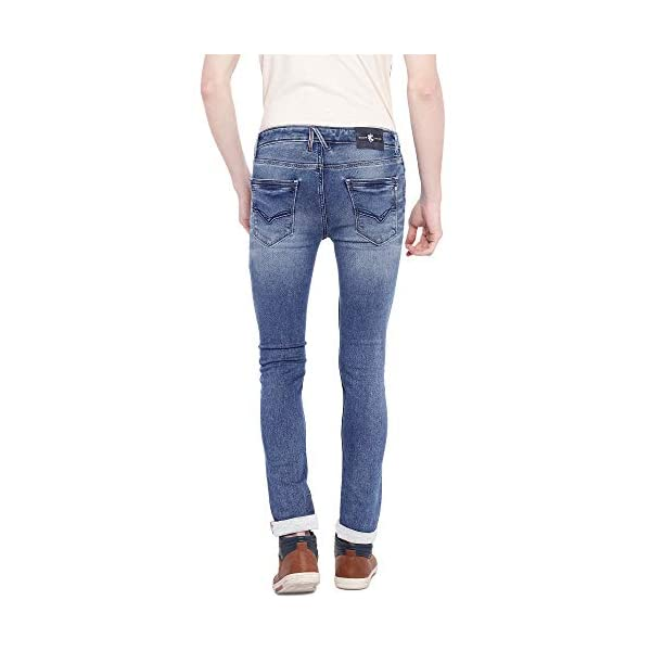 KILLER Men's Slim Straight Fit Jeans 2021 July Care Instructions: Machine Wash Fit Type: Slim Stretchable Jeans
