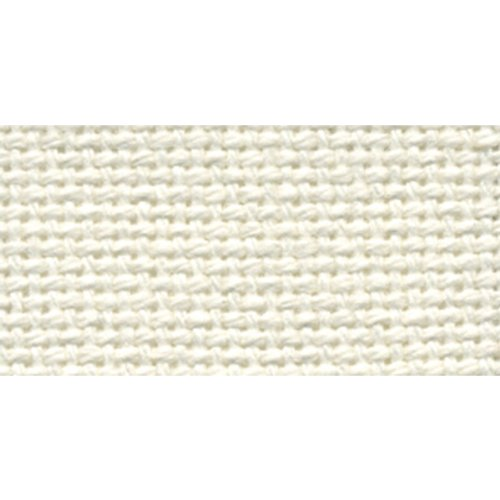Needlework Fabric Evenweave - DMC MO0237-0322 Charles Craft 20 by 24-Inch Evenweave Monaco Aida Cloth, Antique White, 28 Count Embroidery,