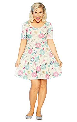 Disney Dress Shop Her Universe Star Wars Dress Floral Womens (xs) -