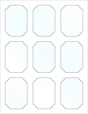 graphic about Printable Labels for Jars known as 45 Printable Sweet Buffet Indicators and Labels for Jars and Boxes, 3 x 2.1 inches, Crystal clear Gloss, Stickers for Shows, Very clear Plastic Jars and Mason