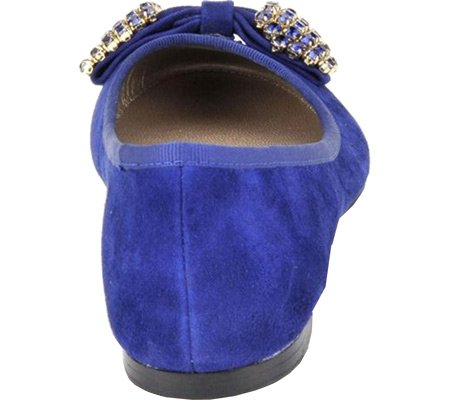 Isola Womens Biel Blue Suede