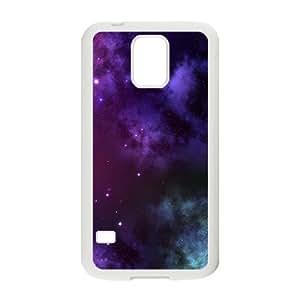 Happy Puple Star Sky Hot Seller Stylish Hard Case For Samsung Galaxy S5