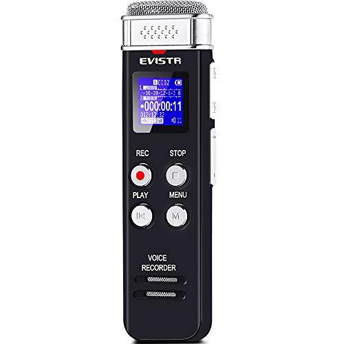 EVISTR 8GB Digital Voice