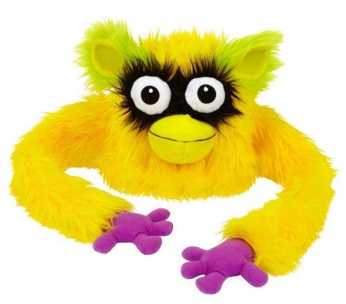 [Hugalopes Fuzzy Hat Puppet Monster YELLOW Big Beak Mix & Match Parts unisex funny cap] (Yellow Beak Costume)