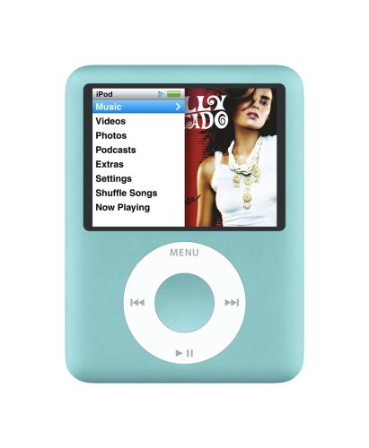Apple iPod nano 8 GB Blue (3rd Generation)  (Discontinued by Manufacturer) (Ipod 3rd Nano)