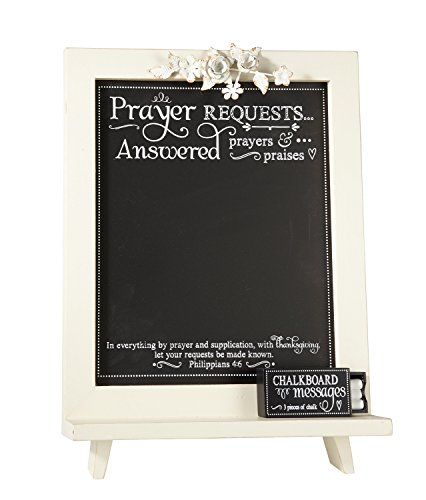 - Faithworks WD131 Wall Art/Tabletop Plaque, Prayer Requests, 12 x 18,