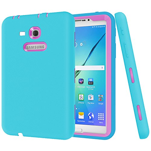 Cheap Cases Galaxy Tab 3 Lite 7.0 Case, Beimu 3 in 1 Shockproof Heavy..