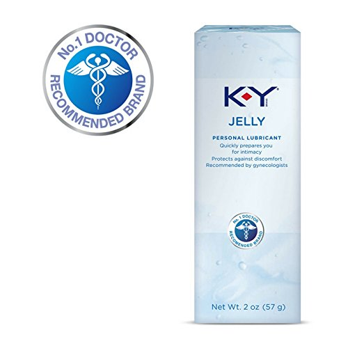 K-Y Jelly Personal Water Based Lubricant - 2 oz