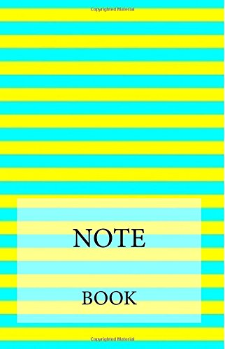 Download NOTEBOOK - Aqua Yellow Lines pdf epub