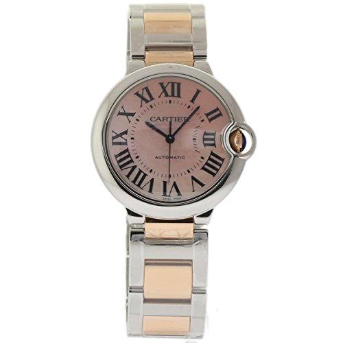 Cartier BALLON BLEU 36MM swiss-automatic womens Watch W6920033 (Certified Pre-owned)